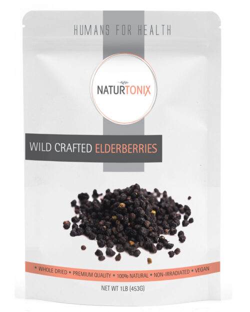 Naturtonix Wildcrafted Elderberries
