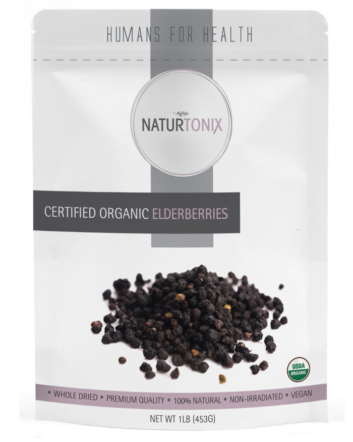 Naturtonix Organic Elderberries